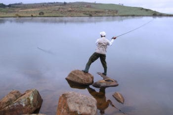 Fly fishing in Dullstroom