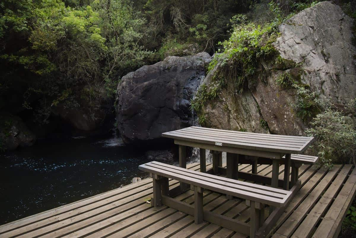 Canyon Cottage picnic spot