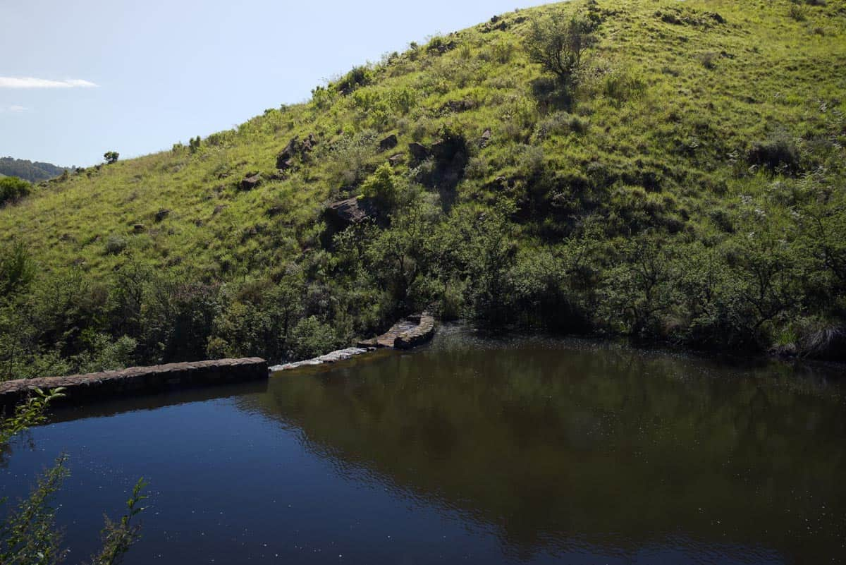 Canyon Cottage dam