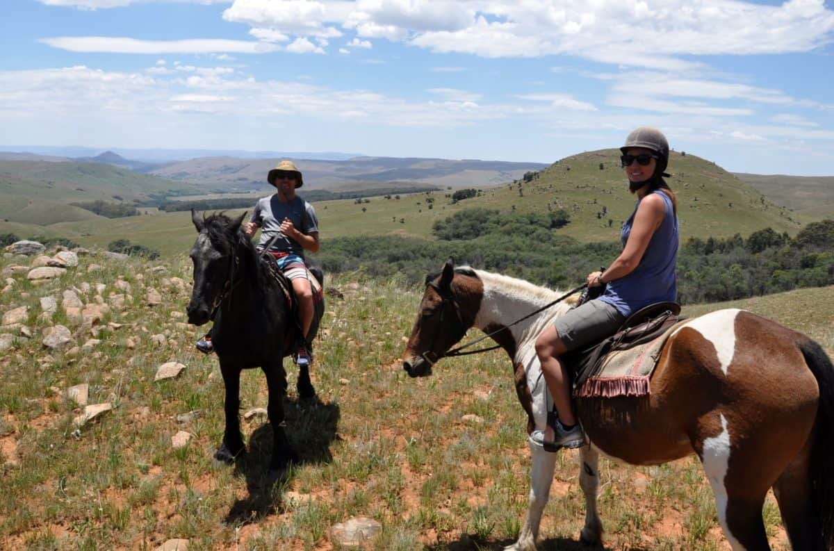 dullstroom activities - horse riding